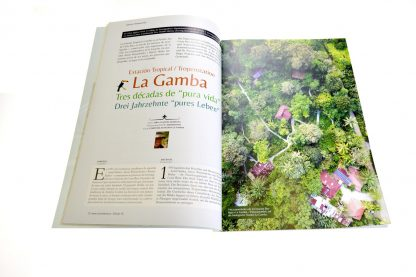CulturaLatina 16 / Estación tropical LA GAMBA